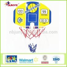 ningbojunye basketball board with clip / basketbal board /basketball board prices