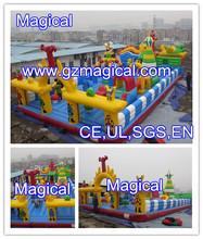 Inflatable fun city/amusement park / inflatable amusement park