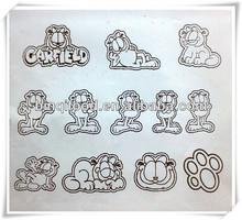 De dibujos animados garfield miel/chocolate/galleta de fresa/cookies