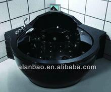Luxury massage bathtubwith TV and MP3 outdoor spa / whirlpool bathtub G675