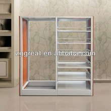 heavy duty compact shelving system/ library bookshelf
