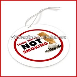 promotional advertising flag car air freshener/air freshener car christmas tree