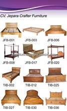 SOLID WOOD BEDROOMS FURNITURE - TEAK BEDS MODELS