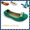 woman foldable ballet dancing shoes hotsale lady flat foldable ballet dancing shoes