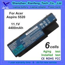 laptop battery for acer aspire 5520 battery