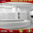 Modern optical shop display furniture with LED light