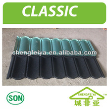 Building Material Sand Stone Metal Roof Tile