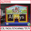movie theme inflatable cartoon bouncer,inflatable banner jumping house