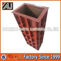 Steel coffrage de beton for monolithic construction