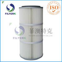 FILTERK G3266 Pleated Polyester Sand Blasting Air Filter