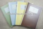 popular PVC cover new design journal/favorite gift subject planner/school student favorite diaries