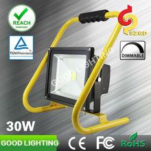 30W led flood lights outdoor lighting fixtures portable rechargeable industrial lighting