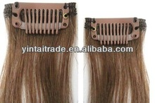 Stock!!! China Beautiful clip in hair wholesale synthetic weave