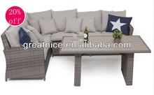 Garden PE wicker/rattan Lounge group discount