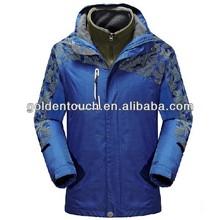 2014winter men outdoor warm confortable windproof waterproof coat