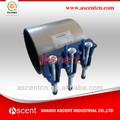 Fuga en la tubería de abrazaderas de reparación / reparación de tuberías de agua abrazaderas