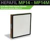 HEPA Filters H14 - Mini Pleat