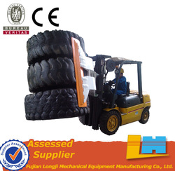Industry material handling 2 t capacity hydraulic forklift tyre clamp