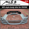 Accessories van WD style face lift kit BODY KITS car accessories for RX350 car accessories