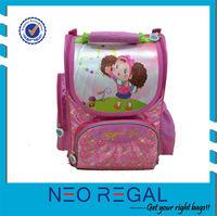 300D polyester girls school bag bags school
