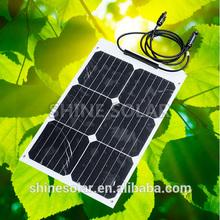 18W back contact ETFE mini flexible solar panel