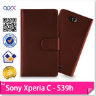 Wallet Case Cover For Sony Xperia C S39h C2305