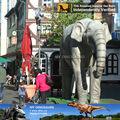 Meu Dino - grandes variedades adulto natal ornamento animatronic elefante