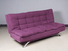 Futon Fabric Sofa Bed with Double Size Mattress