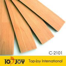 Badminton PVC Wood Pattern Indoor Sports Flooring