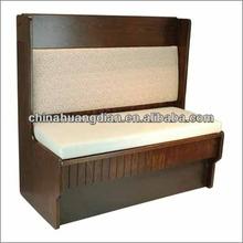 Commercial wooden restaurant booths HDBS237-1