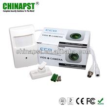 "White 1/3"" Sony 500TVL Color PIR Pinhole Hidden Surveillance Equipment PST-HC101C"