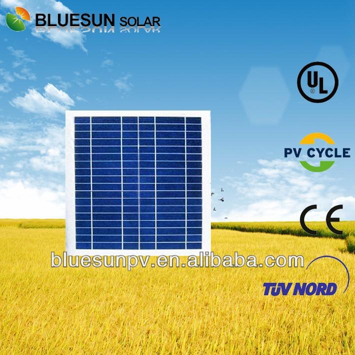 Bluesun hot sell poly 10w pvt hybrid solar panel