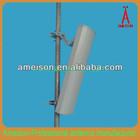2x18 dBi high gain vertical and horizontal polarization 5.8GHz wifi MIMO Antenna