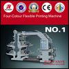 China Flexo four color printing machine,plastic printing machine,money printing machine