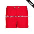 Encargo de colores 90% algodón 10% poliéster ladies gimnasio pantalones cortos