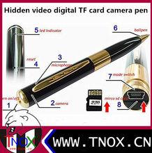 Wireless camera, hidden video digital TF card camera pen wifi