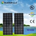 Bluesun tempered glass 100w mono pump water cooled solar panels