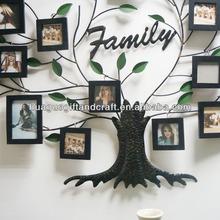innovative design photo frame,iron family tree photo frame,fashion style photo frame