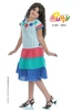 Top Quality Cotton Frock / Girls Party Frock