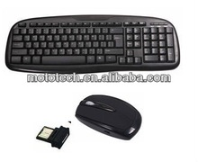 USB 2.4G Wireless Keyboard and Mouse Combo with competitive price