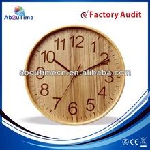 wood furniture/home decor wall clock/wood crafts wall clocks