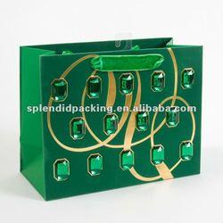 Emerald Gems Medium Gift Bag