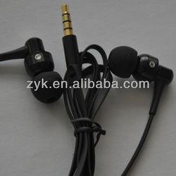 2014 Hot Seller metal shell earphones with CD Grain for mobile shenzhen