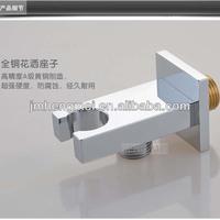 cheap bathroom accessories brass chrome plated shower handle holder