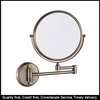 Fancy Household Magnifying Mirror Wall Mount