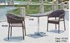 outdoor coffee shop furniture/ rattan patio furniture