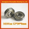 16101zz 16101 12x30x8mm high quality miniature deep groove ball bearing
