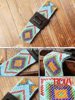 Handmade ladies fashion beaded belts