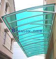 exterior de plástico para telhados