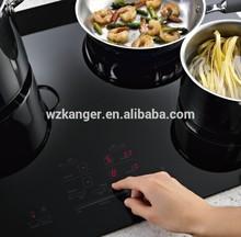 KANGER High temperature black glass ceramic for radiant-cooker panel